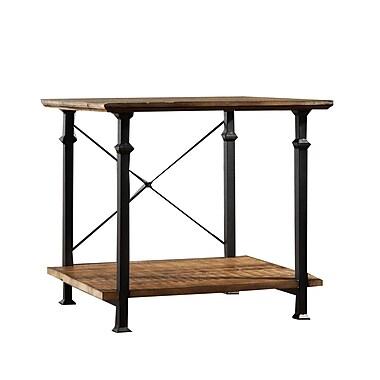 HomeBelle Vintage Metal End Table, Black, Each (783228-04)