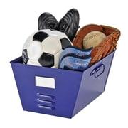 MMF Industries™ STEELMASTER® Soho Collection™ Storage Tub With Locker-look, Blue