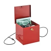 MMF Industries™ STEELMASTER® Soho Collection™ Store-It Box, Red