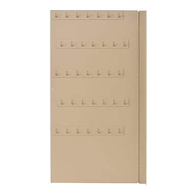 MMF Industries™ STEELMASTER® Extra Panel for Large Motor Vehicle Key Cabinet, Sand, 70 Key Capacity