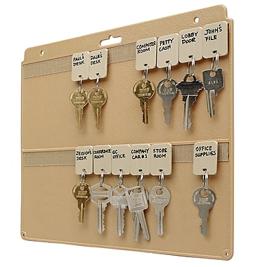 MMF Industries™ STEELMASTER® File Drawer Key Panel, Beige
