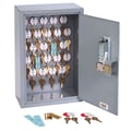 MMF Industries™ STEELMASTER® Dupli-Key® 25 Keys Two-Tag Cabinet With Simplex Lock, Gray