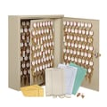 MMF Industries™ STEELMASTER® Dupli-Key® 90 Keys Two-Tag Cabinet, Sand