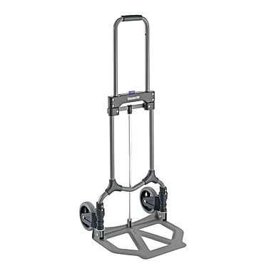 MMF Industries™ STEELMASTER® Steel Folding Hand Truck, Gray, 38 3/4in.(H) x 15 7/8in.(W) x 16 1/2in.(D)