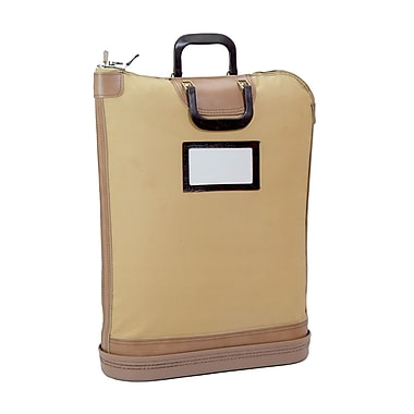MMF Industries™ 7 Pin Locking Security Mail Bag, Tan