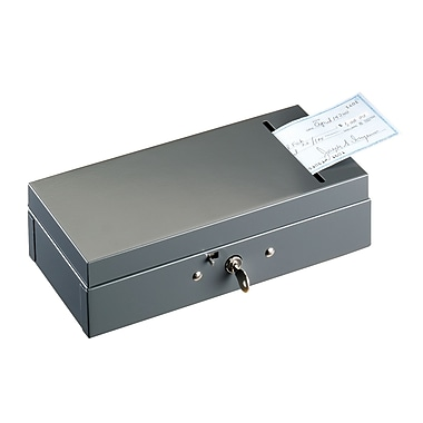MMF Industries™ STEELMASTER® Steel Bond Box With Slot