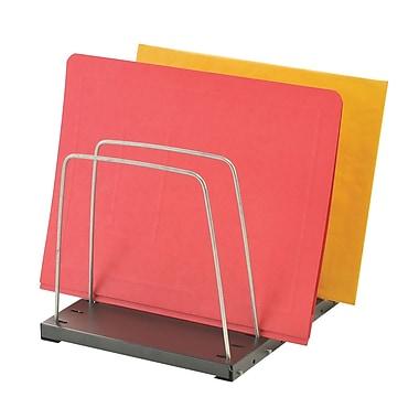 MMF Industries™ STEELMASTER® Adjustable Wire Organizer, Black, 4 Pockets