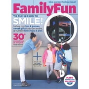 1-Yr Family Fun Magazine Subscription