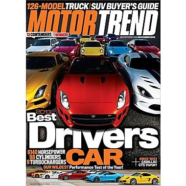 Motor Trend Magazine 1 Year Subscription Staples