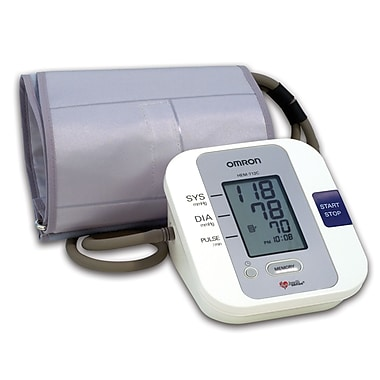 Omron® Auto Blood Pressure Monitor With Large Cuff