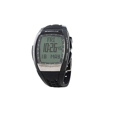 Sportline® Solo 965 Men's Pedometer and Heart Rate Monitor