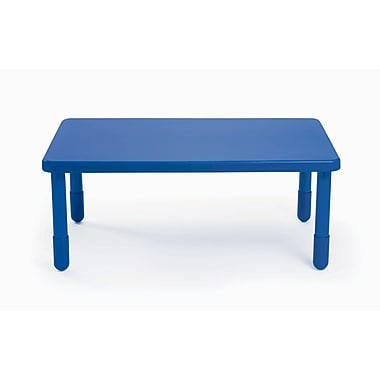 Angeles Value 48'' Rectangular Table, Royal Blue (AB705PB24)