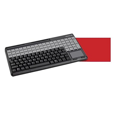 CHERRY G86-61400EUADAA SPOS USB 2.0 Qwerty Keyboard, Black