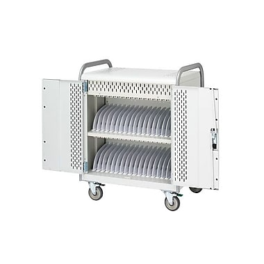 Bretford Basics 36 MDM Tablet Cart, Concrete