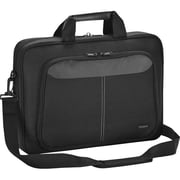 "Targus® 12.1"" Intellect Notebook Sleeve With Strap, Black"