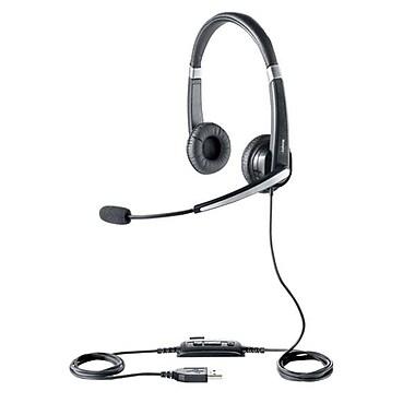 GN Netcom Jabra® GSA5599-823-109R UC Voice 550 MS Duo MONO Headset, Black