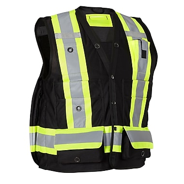 Forcefield Surveyor's Vest, Black, 5XL