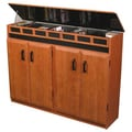 Venture Horizon VHZ Entertainment Top Load Multimedia Cabinet; Cherry