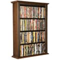 Venture Horizon VHZ Entertainment Single Wall Mounted Storage Rack; Walnut