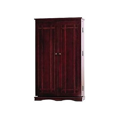 Leslie Dame 612 Series Multimedia Cabinet; Cherry