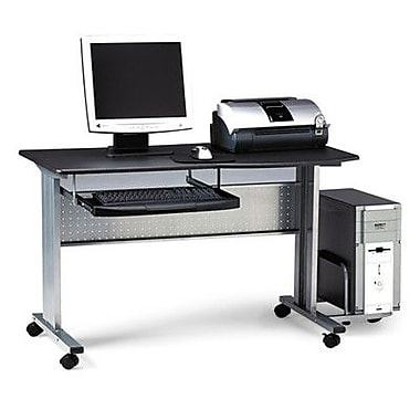 Mayline Eastwinds Mobile Work Table; Anthracite