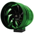Hydrofarm In Line Booster Fan; 10.7  H x 9.7  W x 9.6  D