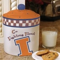 The Memory Company NCAA Gameday Cookie Jar; Illinois