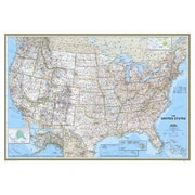 National Geographic Maps United States Classic Wall Map; Enlarged (48'' x 69'')