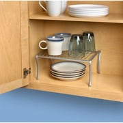 Spectrum Diversified Ashley Cabinet Shelf; Powder Coated Satin Nickel