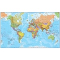 Lovell Johns World MegaMap 1:20 Laminated Wall Map