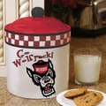 The Memory Company NCAA Gameday Cookie Jar; North Carolina State