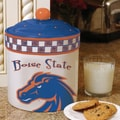 The Memory Company NCAA Gameday Cookie Jar; Boise State