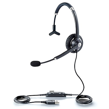 Jabra® UC Voice™ 750 Mono Corded Headset, Black