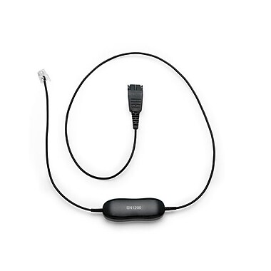 Jabra® GN1216 SmartCord Straight Headset Cable