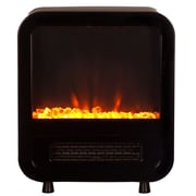 Fire Sense® 1500 W Skyline Electric Fireplace Stove, Black