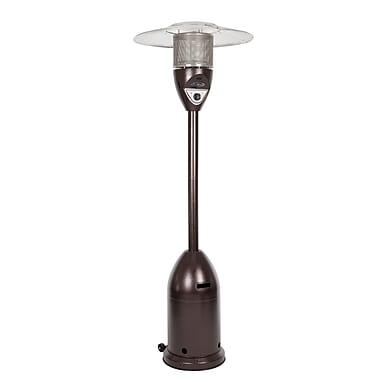 Fire Sense® 47000 BTU Deluxe Patio Heater, Hammer Tone Bronze