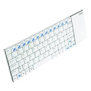 Rapoo Wireless Multi-media Touchpad Keyboard E2700, White