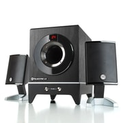 GOgroove BlueSYNC LX Bluetooth 2.1 Home Theater Speaker System with Bass Enhanced Subwoofer