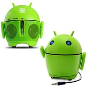 GOgroove Pal Bot Portable Rechargeable Android Speaker with Universal 3.5mm AUX Connection