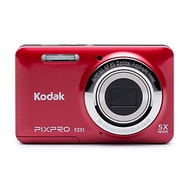 KODAK PIXPRO Digital Cameras FZ51, Red