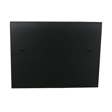 JAM Paper® Portfolio with 2 Button Snap Closure, 9.5 x 12.5 x 0.75, Black, Sold Individually (520BLACK)