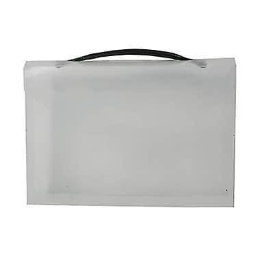 JAM Paper® Plastic Lunch Box, Mini, 8.25 x 5.5 x 1.75, Clear, 4/Pack (340567g)