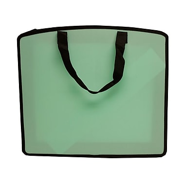 JAM Paper® Art Portfolio Case, 15 x 18 x 3, Light Green, Sold Individually (79814716)