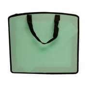 "JAM Paper® 15"" x 18"" x 3"" Art Portfolio Case, Light Green, Sold Individually"
