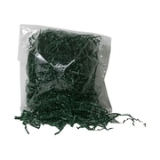JAM Paper® 2 oz. Bags Shred Tissue Krinkeleen, Hunter Green, Sold Individually
