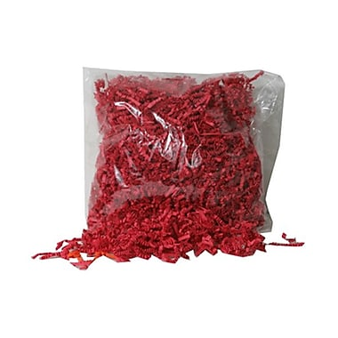 JAM Paper® Shred Tissue Paper Krinkeleen, 2 oz., Red, 5/Pack (1192483g)
