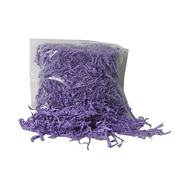 JAM Paper® Shred Tissue Paper Krinkeleen, 2 oz., Purple, 5/Pack (1192475g)