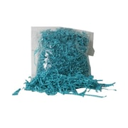 JAM Paper® 2 oz. Bags Shred Tissue Krinkeleen, Sea Blue, Sold Individually