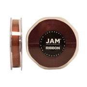 JAM Paper® Double Faced Satin Ribbon, 3/8 Inch Wide x 25 Yards, Chocolate Brown, Sold Individually (803SACHB25)