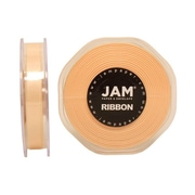 "JAM Paper® 3/8"" x 25 yds. Double Faced Satin Ribbon, Ivory, Sold Individually"